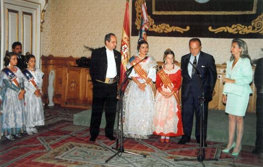 Recepción en el Palacio de la Xunta