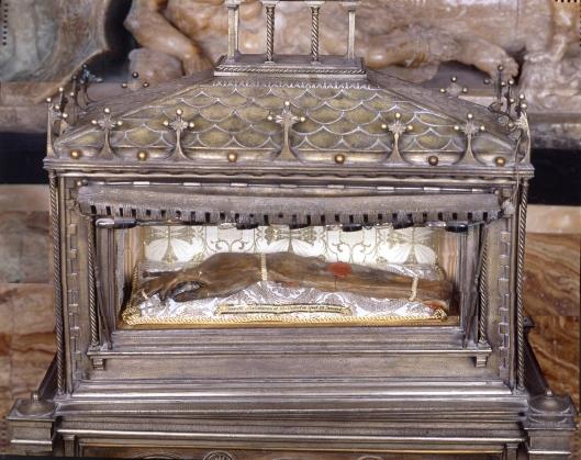 2-Reliquia brazo S. Vte. Mártir-Catedral  Valencia